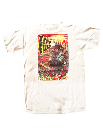 20th Anniversary Tube Tee *** will shrink to spec after cold wash hot dry. - Left Field NYC