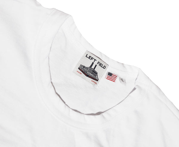 SPECIAL: MIX/MATCH 2 LF WORK UNIFORM POCKET TEES (BLACK AND WHITE) - Left Field NYC