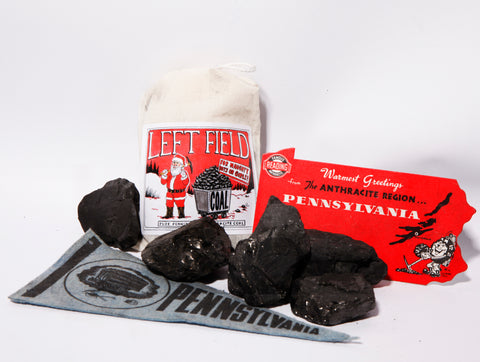 Christmas Coal for Naughty Boys and Girls - Left Field NYC
