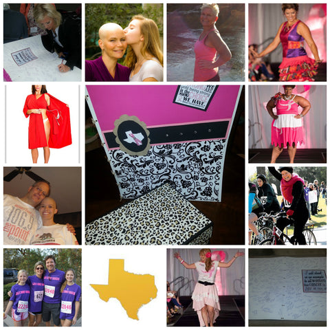Image collage of cancer recovery patients