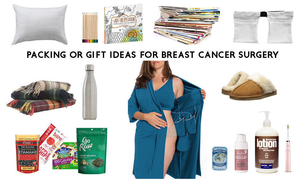 Breast cancer surgery recovery gift ideas