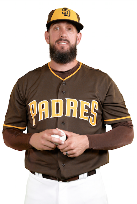 2016-2019 Padres Friday Home Brown Uniform