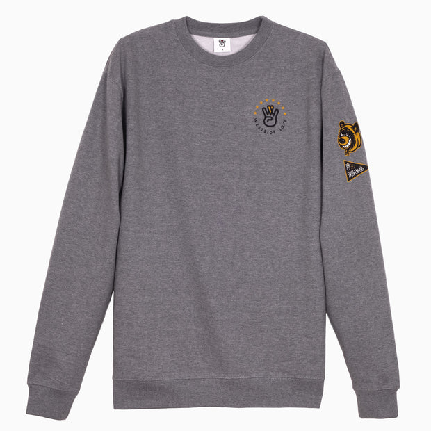 Campus Crewneck Smoke