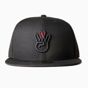 All Black New Era Fitted