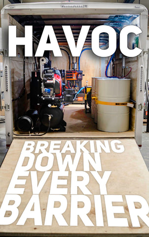 Havoc breaking down every barrier
