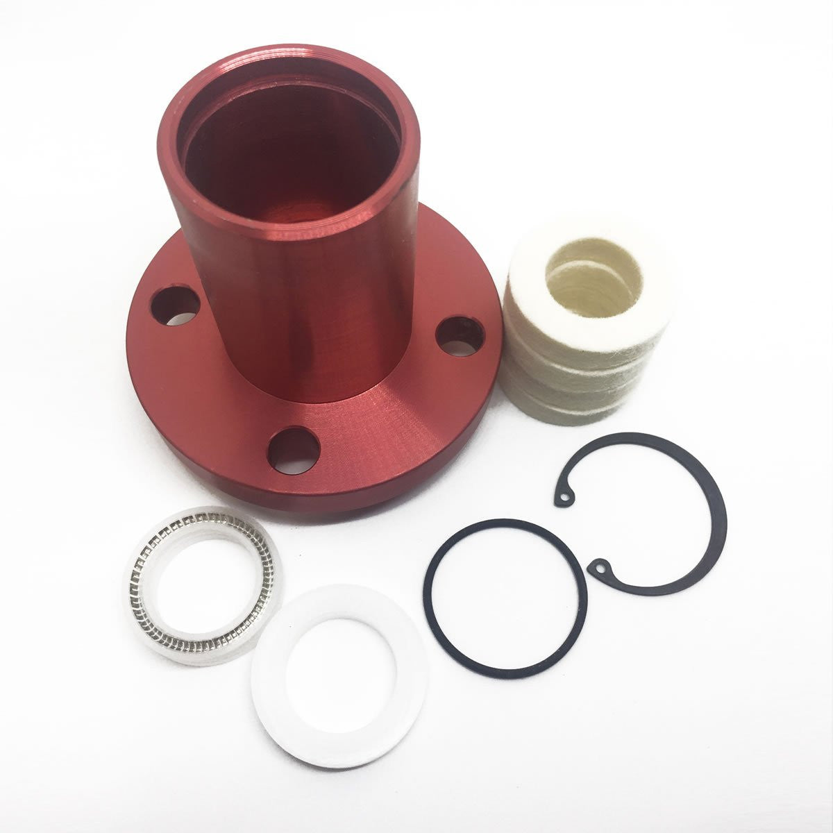 SFE Complete ISO Solvent Cup Assembly for BOSS Machine