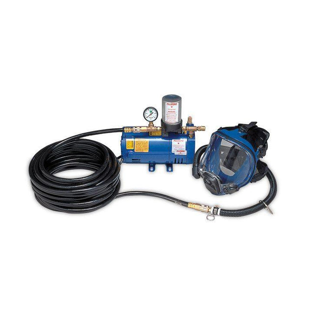 Allegro one man ambient system with 100' of hose and full face mask