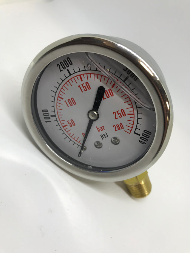 4000 PSI Fluid Gauge