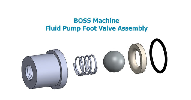"Complete Foot Valve Assembly for 1.25"" Fluid Pump"