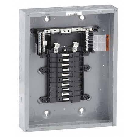 1 Phase Breaker Panel With Cover (8 Circuit Outdoor Panel for CH Breakers)