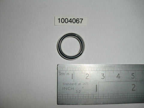 11.91mm ID x 2.62mm wide FEP coated Viton  O-ring, 1004067