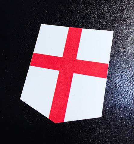 england sticker flag car