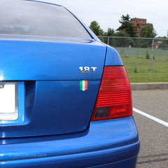Flag of Ireland car sticker on a VW Jetta