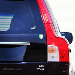 Flag of Ireland car sticker on a Volvo XC90