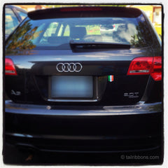 Irish Flag sticker on Audi A3