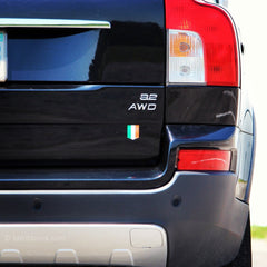 Irish car sticker
