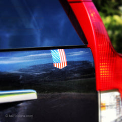 US car sticker