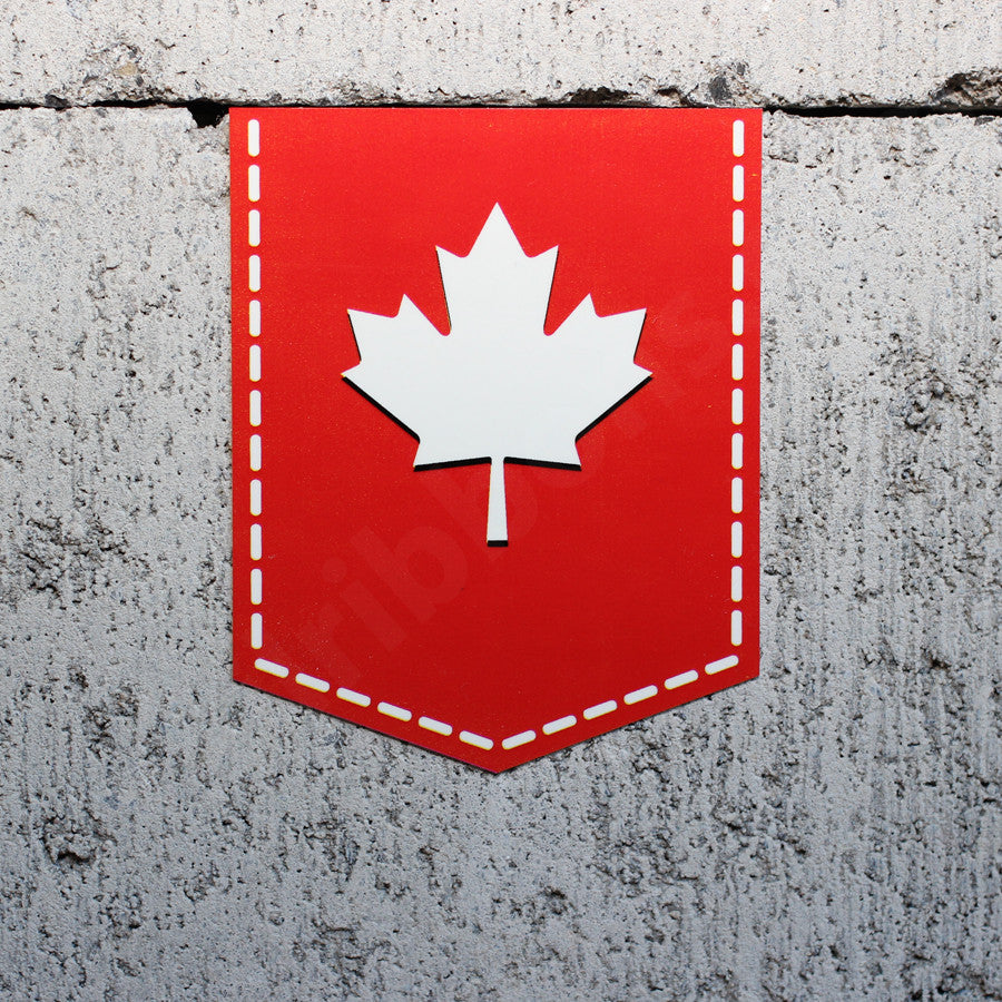 Maple Leaf car sticker Canada Canadian vinyl decal