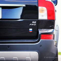 Russian Flag car sticker