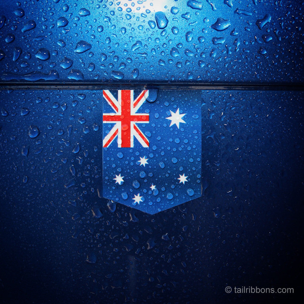 Australian Flag car sticker vinyl
