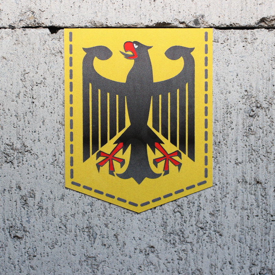 Germany Coat of Arms car sticker vinyl German Bundesadler