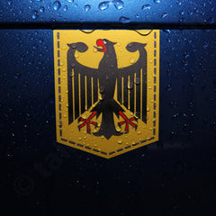 Germany Coat of Arms car sticker vinyl decal German Bundesadler