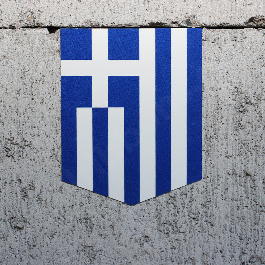 Flag of Greece car sticker Greek vinyl decal