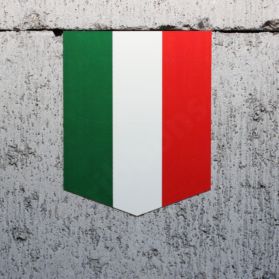 Flag of Italy sticker car
