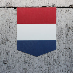 Flag of Netherlands car sticker vinyl decal Dutch Holland