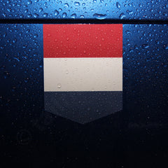 Flag Netherlands car sticker vinyl decal Dutch Holland emblem