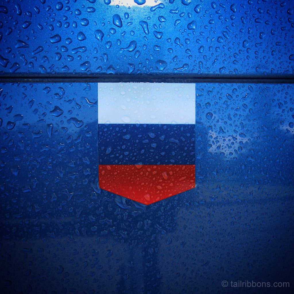 russia flag viny sticker