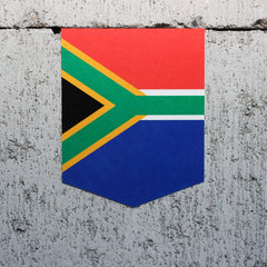 Flag of South Africa car decal vinyl sticker car emblem
