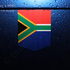 Flag of Republic of South Africa car Flag of South Africa decal vinyl sticker emblem