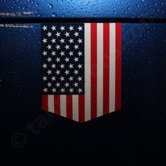 United States flag sticker car vinyl decal emblem USA
