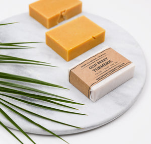 Goji Berry Turmeric  Natural Soap