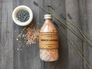 Relaxing Lavender Bath Salt
