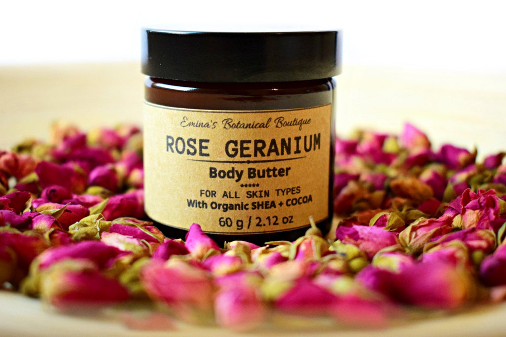 Rose Geranium Body Butter