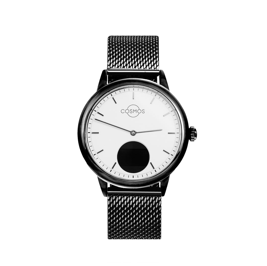 The One - Black Hybrid Watch
