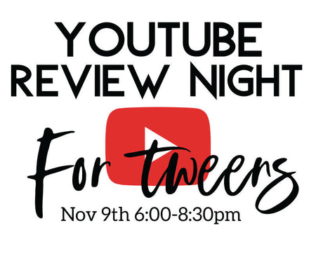 Tween Youtube Review Night