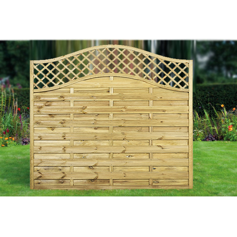 Lattice Timber Fence Panels | Call for Availability