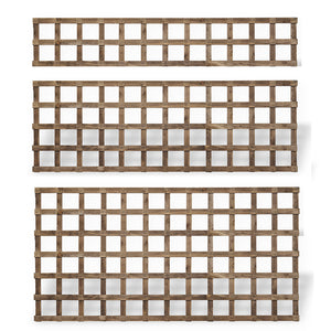 Traditional Square Timber Trellis Panels #