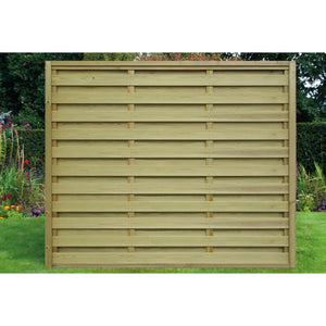 Hit & Miss Timber Fence Panels