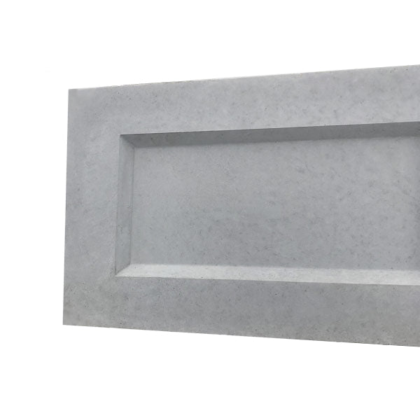 Rebated Concrete Gravel Boards 12"