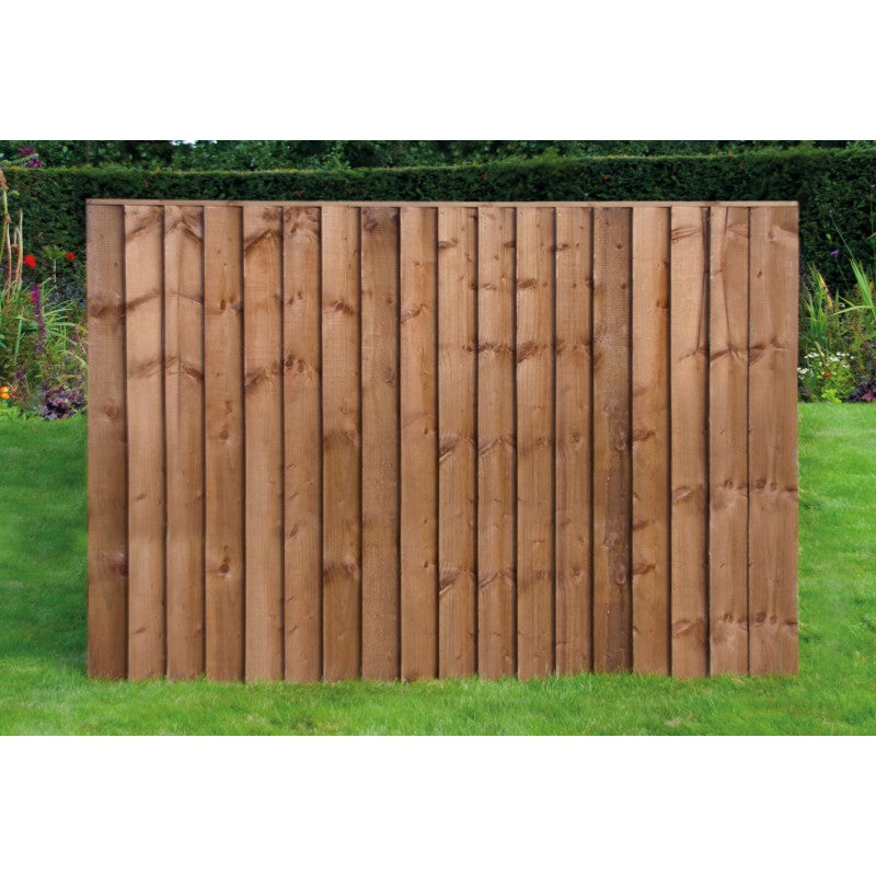 6ft x 4ft Pressure Treated Timber Feather Edge Fence Panels