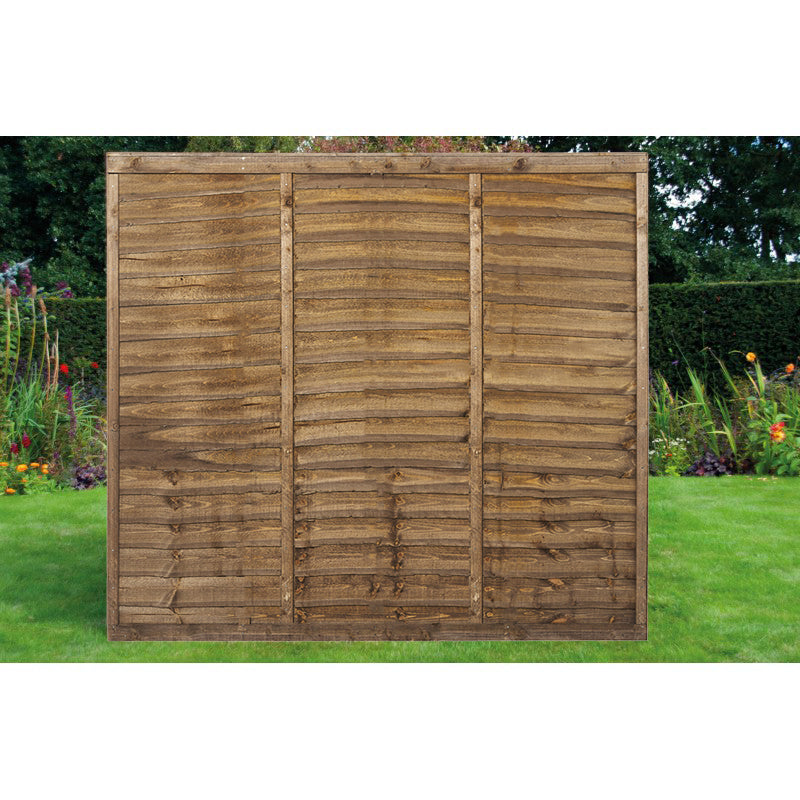 6ft x 6ft Overlap Timber Fence Panel