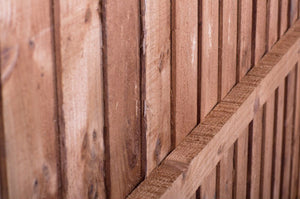 6ft x 3ft Pressure Treated Timber Feather Edge  Fence Panels