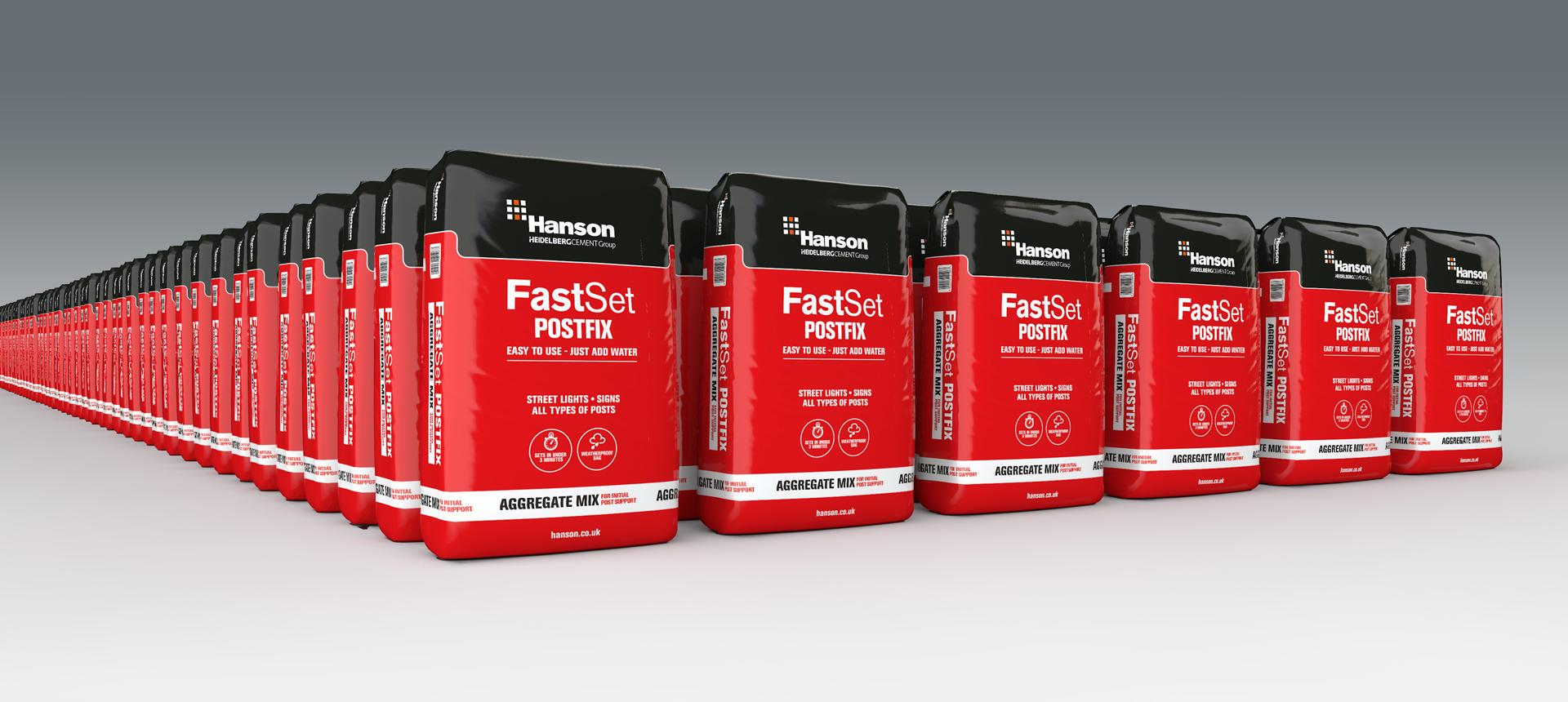 Hanson Fast Set Postfix Concrete 20kg | Building Products