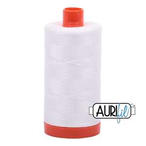 Aurifil 50 wt Thread - 2021 Natural White