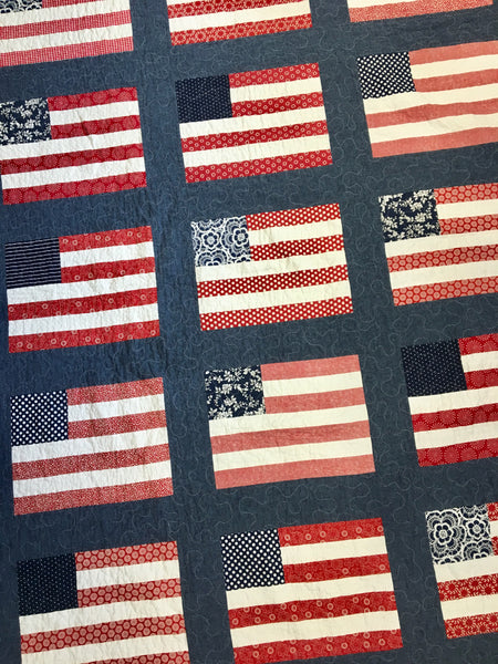 Stars & Stripes Paper Pattern