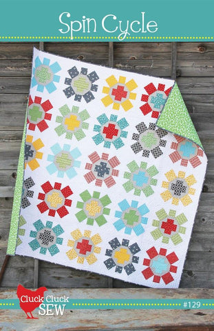 Spin Cycle Paper Pattern
